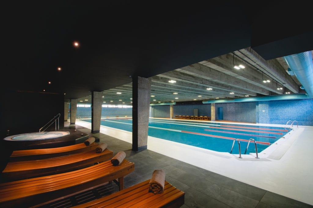 hotel indoor lap pool Spain