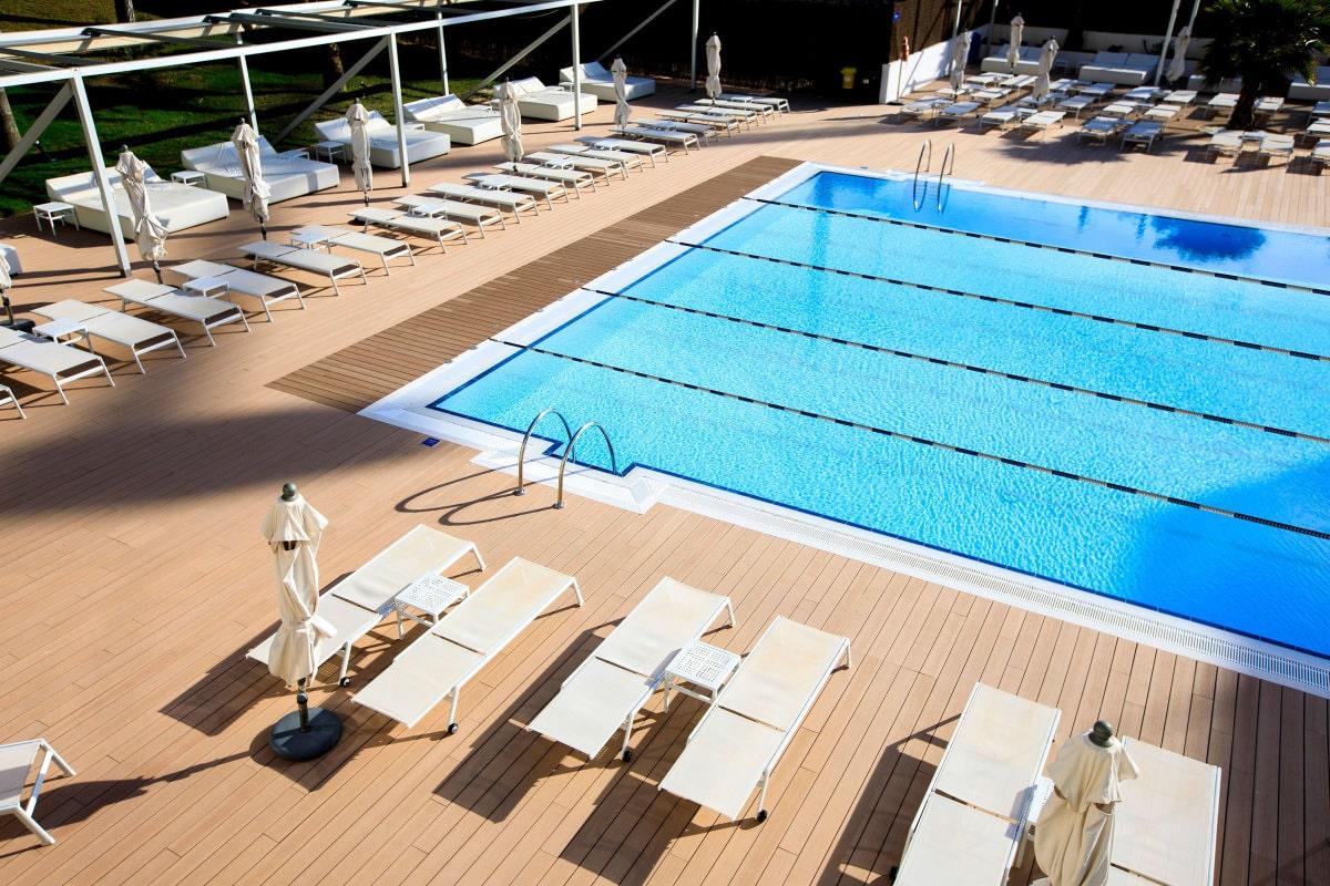Olympic sized lap pool Majorca