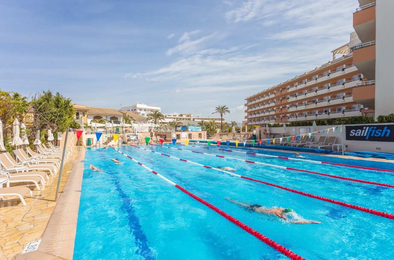 Olympic lap pool hotel