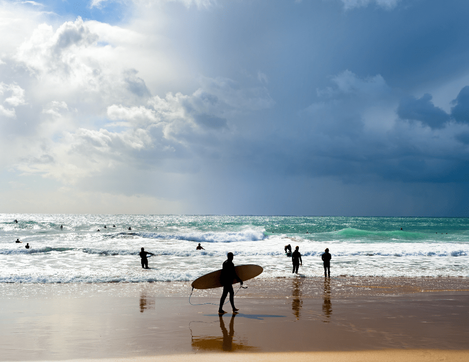 Surfing holiday Portugal